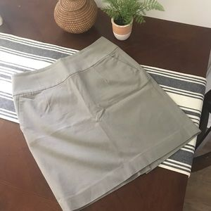 Gray Banana Republic Pencil Skirt
